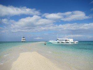 Island Hopping in North Sandbar Cebu Philippines